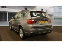 2014 BMW X3 2.0 XDRIVE20D M SPORT 5d 181 BHP Estate Diesel Manual