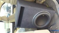 "JLW713"" SUB in JL tuned ported box /w JLHD1200 watt rms amp"