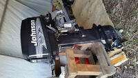 2001 Johnson 25hp outboard 2 stroke