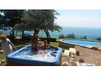 lovely villa with a privat pool and jacuzzi ,amazing sea view,Black Sea,Albena,Bulgaria