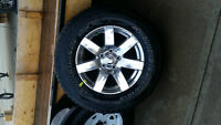 Five (5) Brand New Tires & Rims from 2015 Jeep Wrangler Sahara