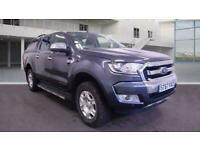 2018 FORD RANGER 2.2 TDCI 160 LIMITED 1 AUTO GREY DOUBLE CAB PICKUP 4WD 1 OWNER