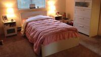 Ikea Malm twin bed in birch