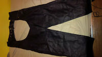 XL Leather Motorcycle Chaps