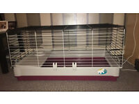 Ferplast Indoor hutch / cage. Excellent condition. Rabbits or Guinea Pigs. Folds flat!