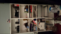 ikea Billy white cabinet/shelf