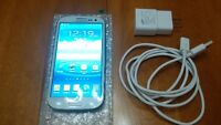 White Samsung Galaxy S3 T999V –In Mint Condition and Unlocked (E