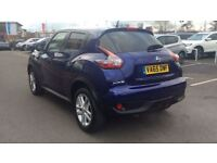 NISSAN JUKE 1.6 N-Connecta 5dr Xtronic (blue) 2016