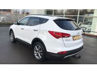 HYUNDAI SANTA FE 2.2 CRDi Premium 5dr [7 Seats] (white) 2014