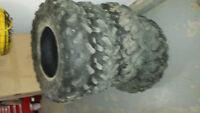 4 Quad tires off of 2007 650 Brutte Force
