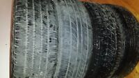 "4 Yokohama tyres with  rims  in  size  of  185 -65 -14 "" sale"