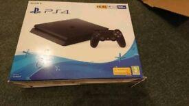 Sony PlayStation 4 black 500gb new cuh 2116a