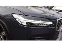 VOLVO V90 2.0 D5 PowerPulse R DESIGN 5dr AWD Geartronic (grey) 2017