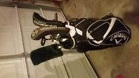 full set of clubs with bag and balls need gone