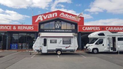 2005 AVAN ERIN POP TOP CARAVAN Windsor Gardens Port Adelaide Area Preview