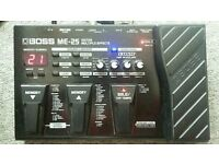 Boss ME-25 Guitar effects pedal