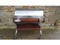 bain marie wooden and stainless steel