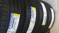 BRAND NEW MICHELIN DEFENDER PERFORMANCE 215/55/17 TIRE SET OF 4