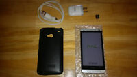 White HTC One M7 32GB Unlocked with Otterbox