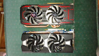 2 R9 280X graphic cards
