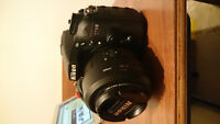 Nikon d7100 Body or with lenses - mint condition, lightly used