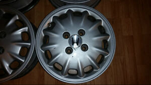 """Set of 15"""" alloy rims for Honda Accord or Prelude 4x114"""