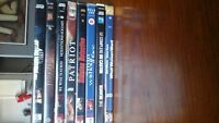 Mel Gibson DVD collection