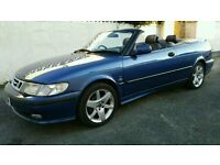 SAAB 9 3 CONVERTIBLE 2.0 TURBO SE TOP SPEC(CLASSIC SHAPE) REDUCED PRICE!!AS NEW CAR HERE!