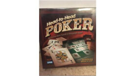 Head to head Poker NEW/SEALED/UNOPENED