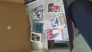 Hockey cards- Box full and sets