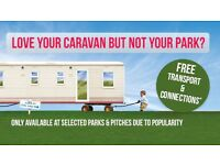 Bring ur own static caravan to our park 12 month season 5*facilities dog friendly