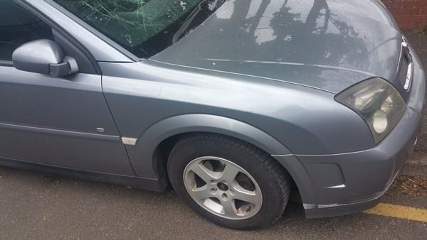 Vauxhall Vectra O/S Wing In Grey Code: 163 (2005)