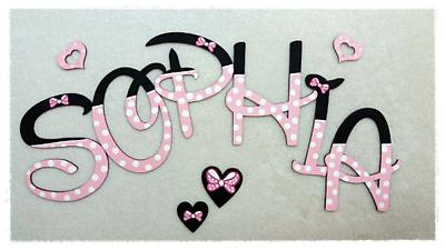 ❤️Holz Buchstaben 10cm, ❤️ Kinderzimmer Tür Wunschname Dekoration Baby Kinder ❤️