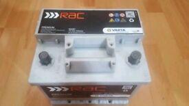 Car battery RAC premium RAC001 12V 52ah 520a (EN) Varta 063