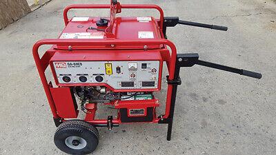 Multi-quip Ga6heb 6000w Portable Generator 11hp Gas Honda Motor Electric Start