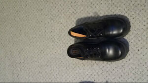 NEVER WORN - 2 pairs of black safety shoes - HOT BUY!!!