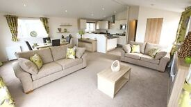 stunning double lodge for sale ribble valley lancashire, 12 month park