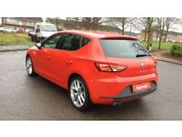 SEAT LEON 1.4 TSI ACT 150 FR 5dr [Technology Pack] (red) 2014