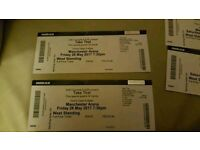X 2 standing take that tickets manchester arena sold out friday 26th may