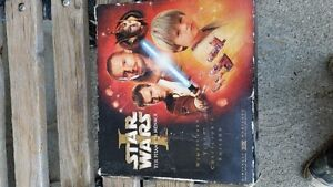 star wars collectors addition vhs posters. And some figures