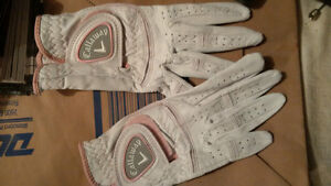 Callaway Golf Gloves - Woman's and Men's - 2 gloves for $15