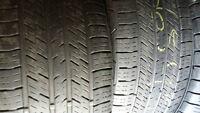 2 pneus  265 45R20 en bonne condition de marque continental