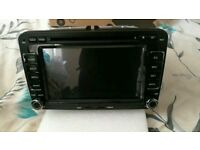 VW Android car stereo gps dvd player