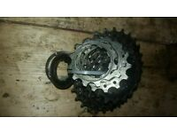 10 Speed Shimano 105 CS-5700 (12-27) cassette £10