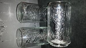 Lot#186-Coca-Cola Glasses Shaped like a Can x 3 Strathcona County Edmonton Area image 5