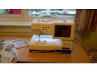 Janome Memory craft 11000se Sewing & Embroidery Machine