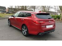 KIA OPTIMA 1.7 CRDi ISG GT-Line S 5dr DCT (red) 2017
