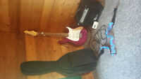 Peavey Raptor plus exp guitar in rare purple