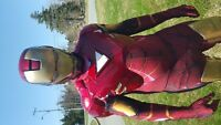 IRON MAN FOR YOUR CHILDS BIRTHDAY PARTY?!