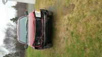 2002 GMC Envoy slt SUV, Crossover, for repair or parts